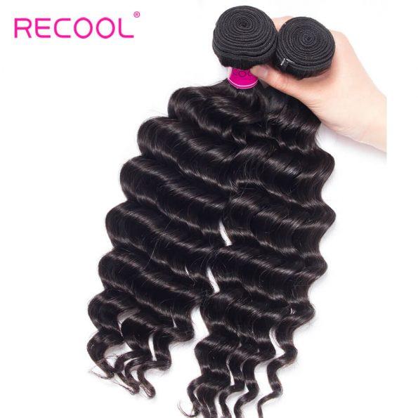 recool hair loose deep bundles 3