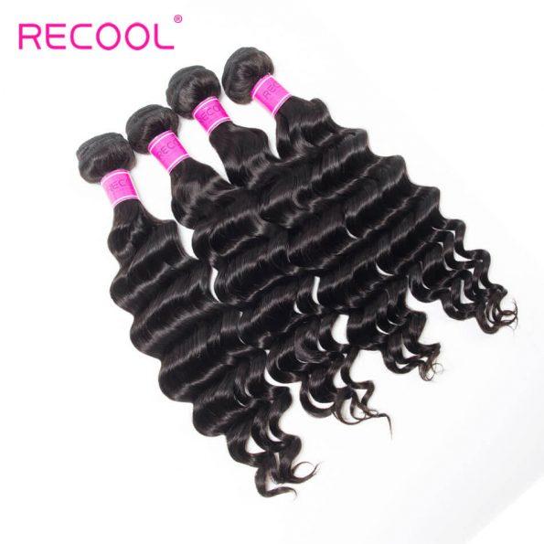 recool hair loose deep bundles 8