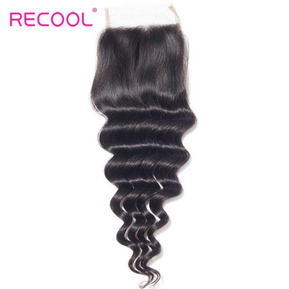 recool hair loose deep closure 12