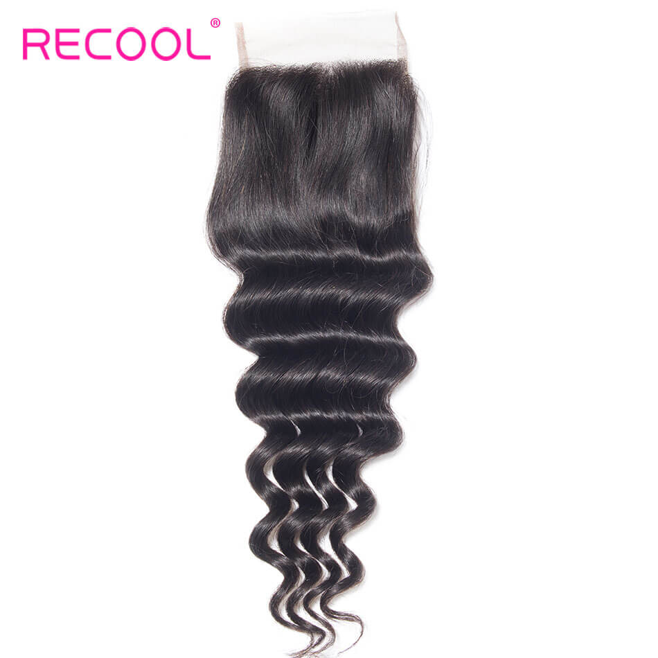 recool hair loose deep closure 13