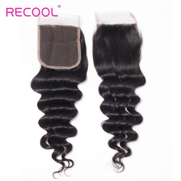 recool hair loose deep closure 3