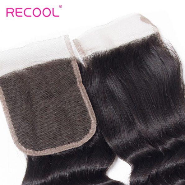 recool hair loose deep closure 5