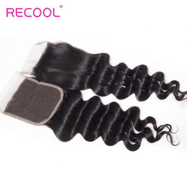 recool hair loose deep closure 6