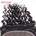 Malaysian 4 Bundles Loose Wave Hair Bundles with Frontal