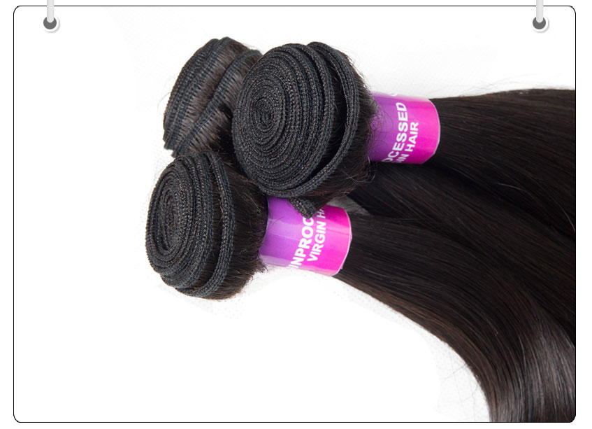 Recool Hair Weave Bundles Grade 8A Mink Hair High Quality Brazilian Straight Hair