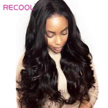 Peruvian Virgin Hair Body Wave 4 Bundles With Frontal 8A Grade Human Hair Lace Frontal Closure With Bundles