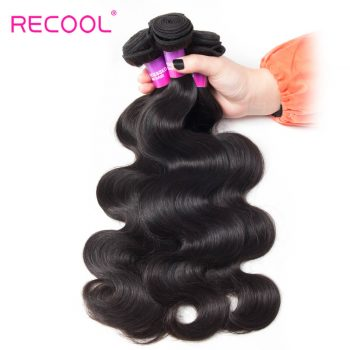 Malaysian Body Wave Virgin Hair 4 Bundles Recool Hair 8A High Quality Malaysian Hair Weave Bundles