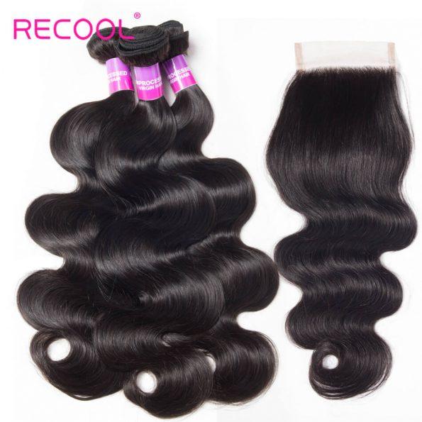 Recool hair body wave hair (26)