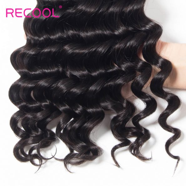 Recool hair loose deep human hair (4)