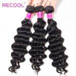 Malaysian Loose Deep Virgin Human Hair 3 Bundles