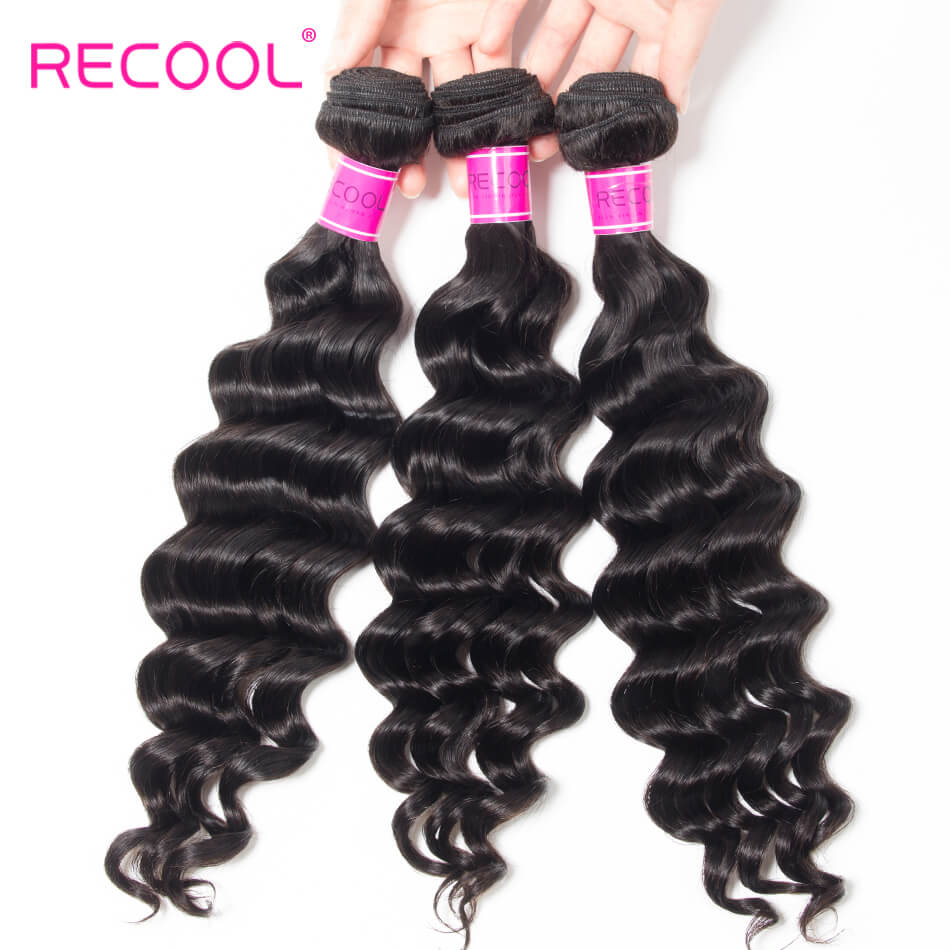 Recool hair loose deep human hair (7)