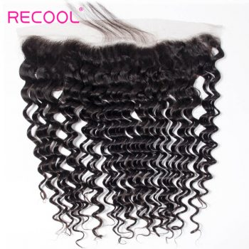 Hot Selling Deep Wave 13*4 Lace Frontal Closure