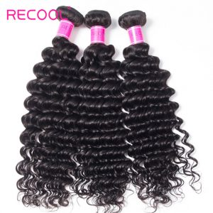 Remy Virgin Human Hair deep Wave Bundles hair