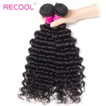 Brazilian Deep Wave Hair Bundles 100% Human Hair