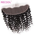 Hot Selling Brazilian Deep Wave 13×4 Lace Frontal Closure