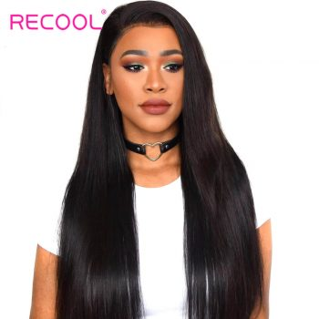 Recool Brazilian Straight Virgin Human Hair 1 Bundle 10-30 Inch In Stock