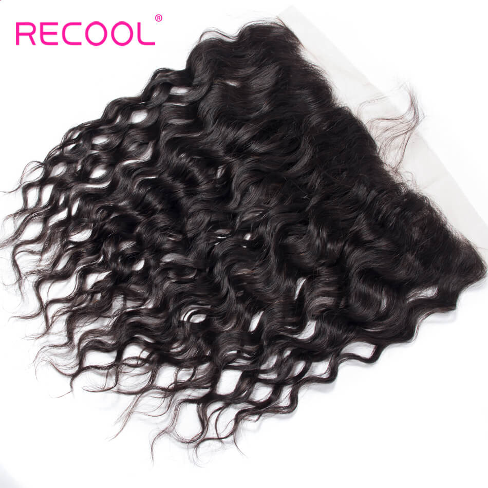 Brazilian Wet and Wavy Frontal Water Hair Extensions