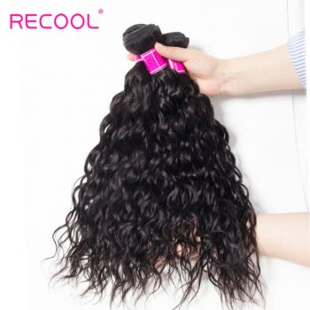 Water Wave Bundles 3 Pcs/Lot Recool Hair Brazilian Wet And Wavy Virgin Human Hair Weave Bundles