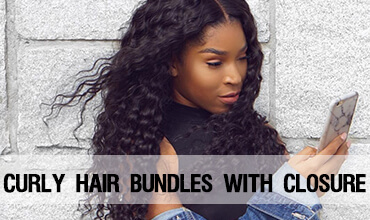 cheap best virgin remy Human hair curly wave bundles with closure websites virgin hair bundle deals