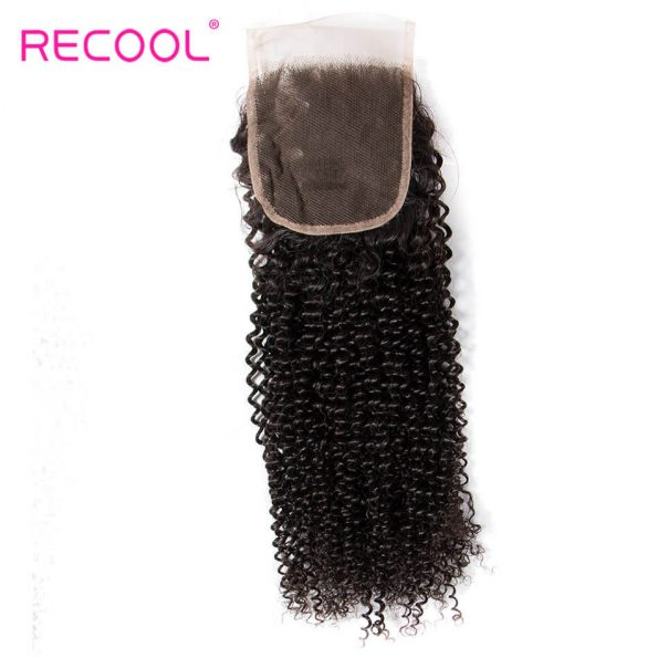 kinky curly lace closure hair