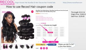 How to use Recool Hair Coupon code