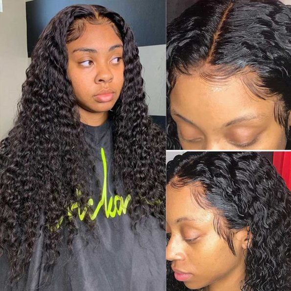 360 lace frontal deep wave wig 1
