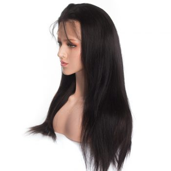 360 straight lace Front wig