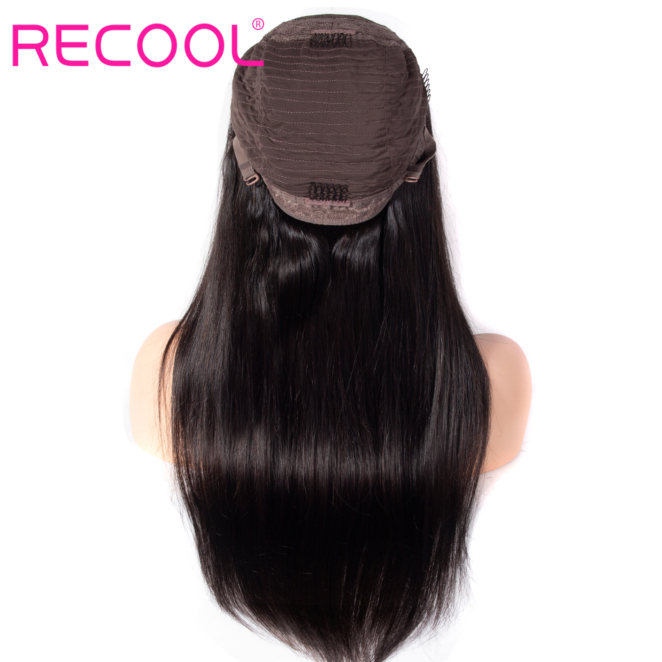 4x4 straight lace closure wig