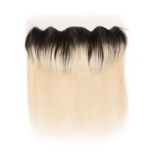 Brazilian 1b-613 Straight hair 13x4 Lace Frontal Closure