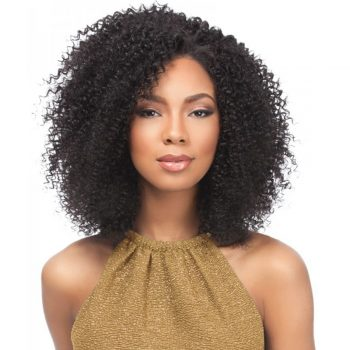 Kinky Curly Wave Lace Front Human Hair Wigs Pre Plucked With Baby Hair