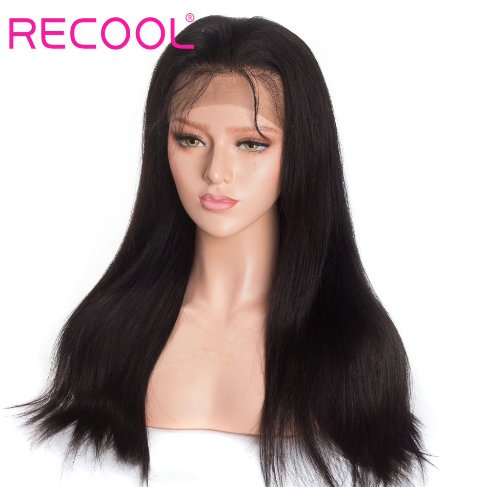 Recool straight 13x4 lace closure wig 1