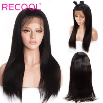 Recool straight 13x4 lace closure wig