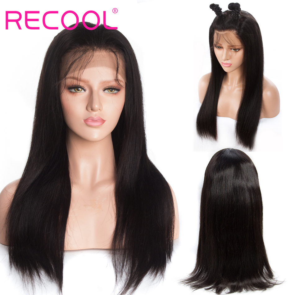 Recool straight 13×4 lace closure wig