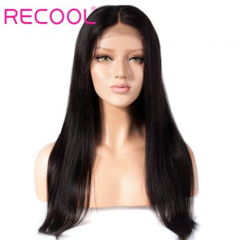 Recool straight 4x4 lace closure wig