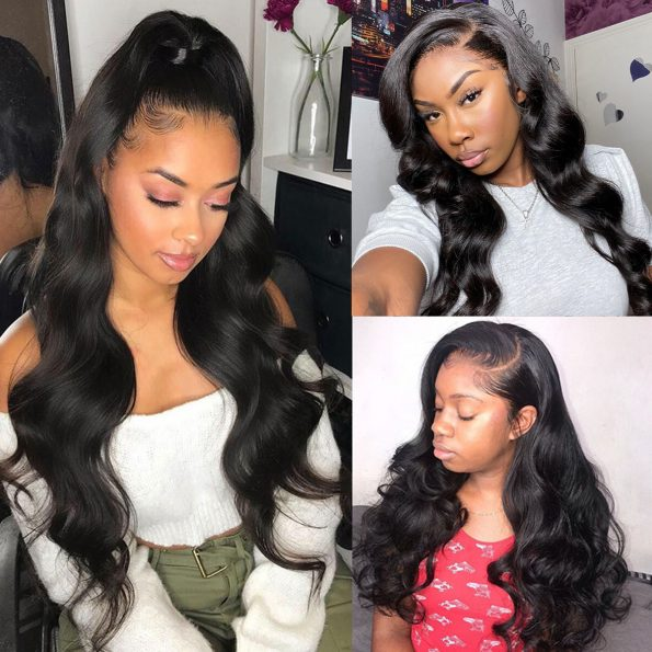 body wave 13×4 lace front wig (1)