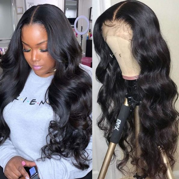 body wave 13×4 lace front wig (2)