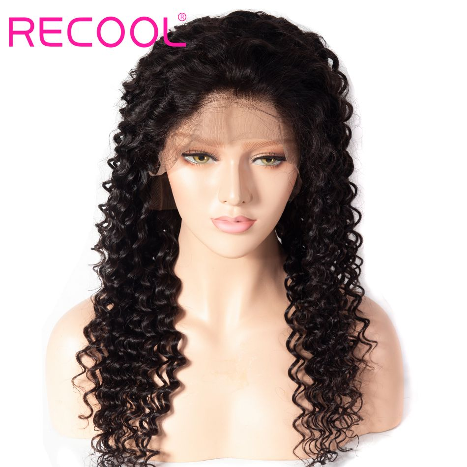 deep Wave curly 13x4 lace front wig