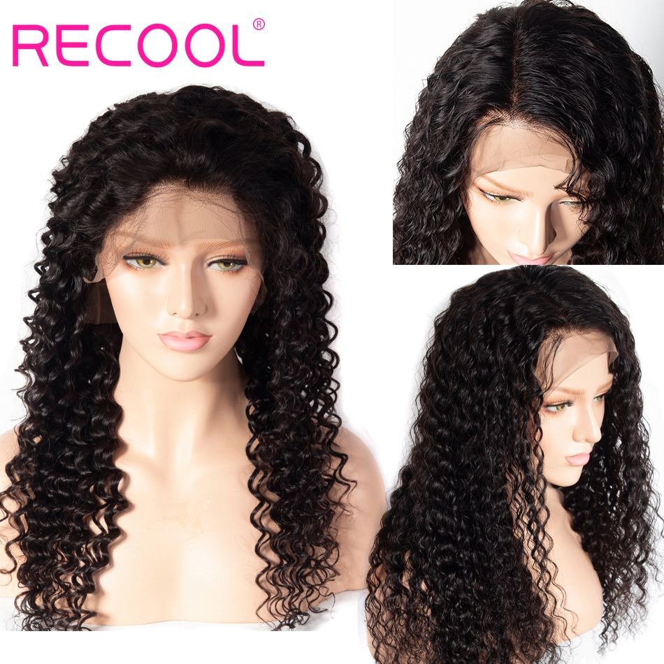 deep curly 360 lace frontal wigs