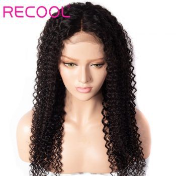 kinky curly wave 13x4 lace front wig