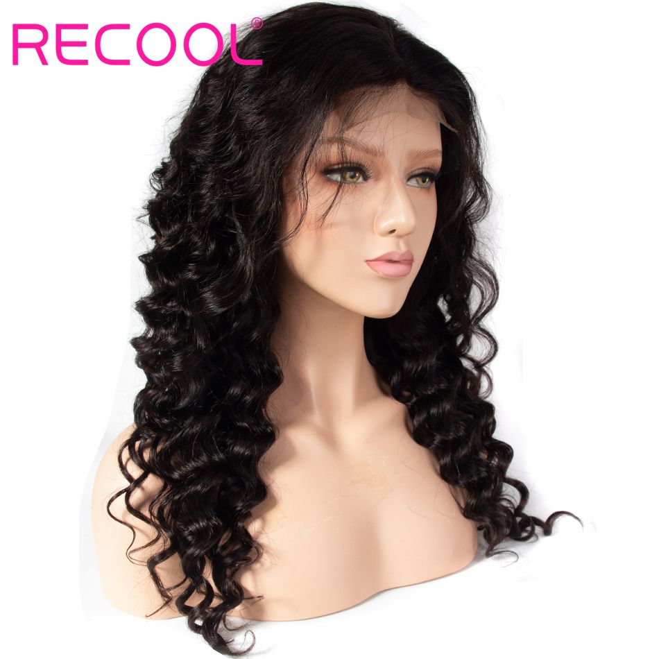 loose deep lace front wig 2