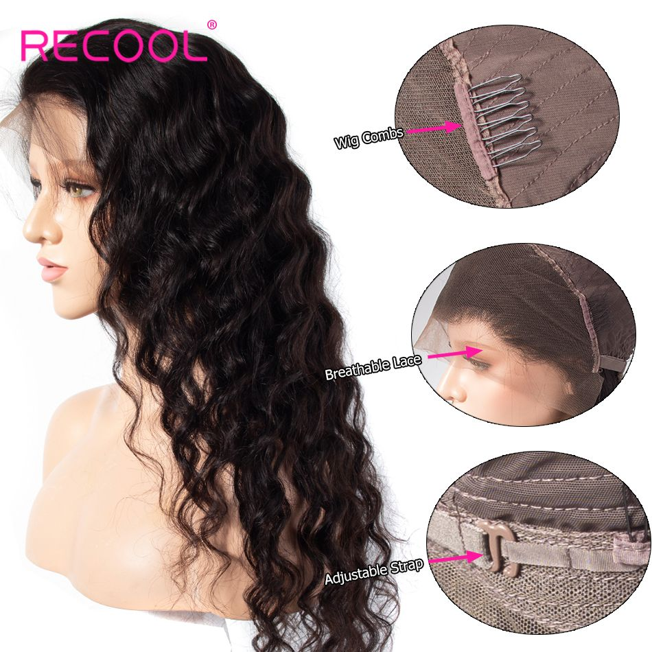 loose deep wavelace front wigs