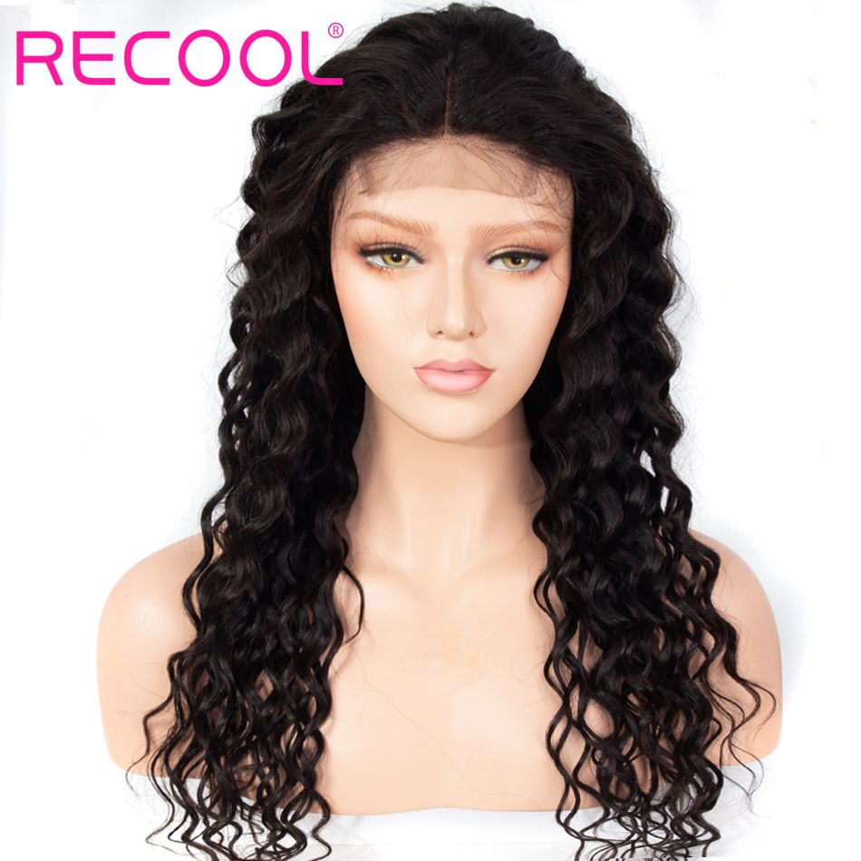 water wave 360 lace front wig