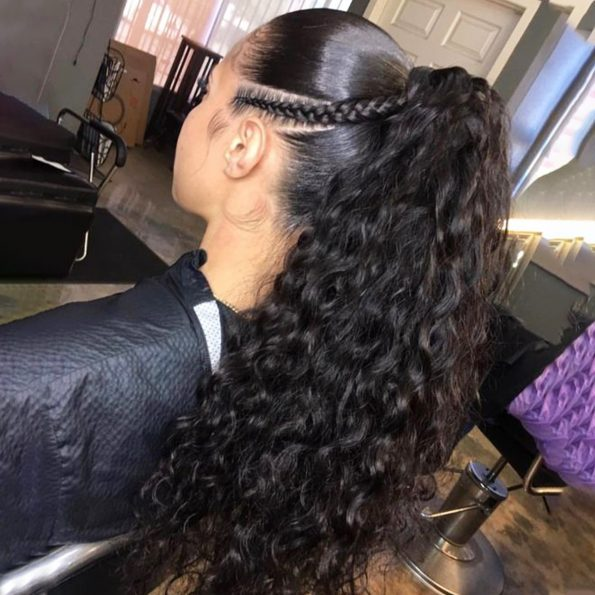 water wave wig 360 lace frontal wig 1
