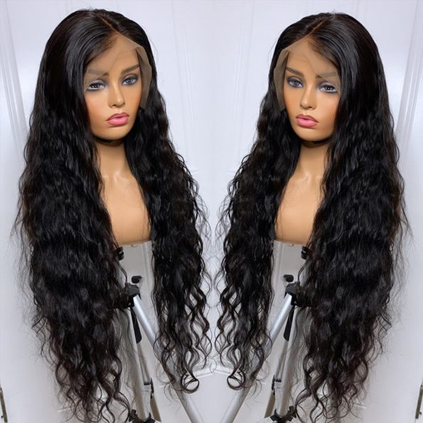 water wave wig 360 lace frontal wig 2