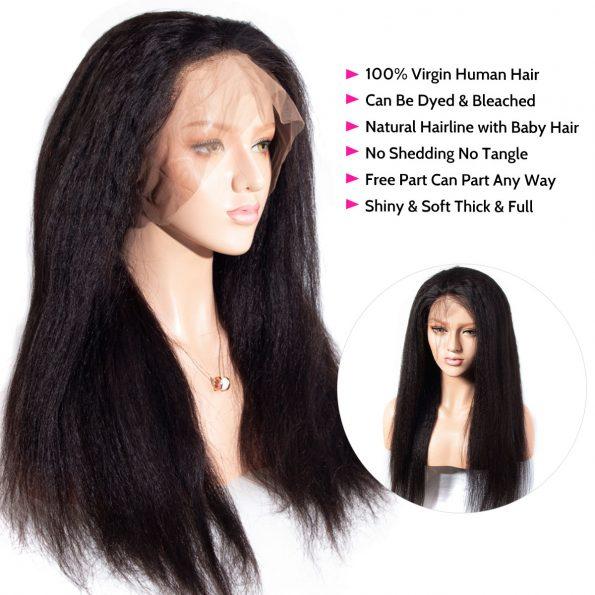yaki straight wig details