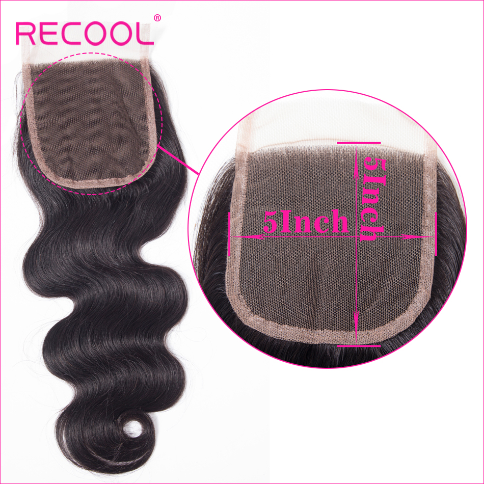 body wave hair 5x5 Lace Closure