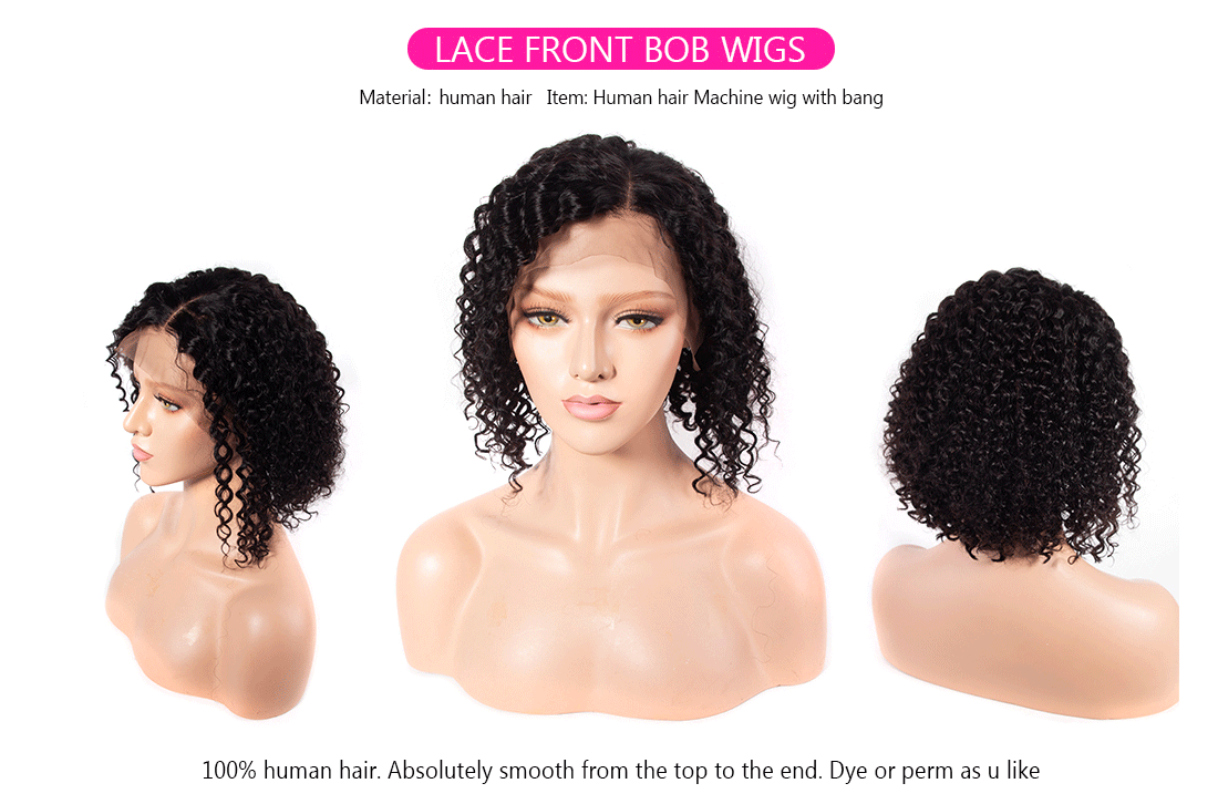 bob lace front wig