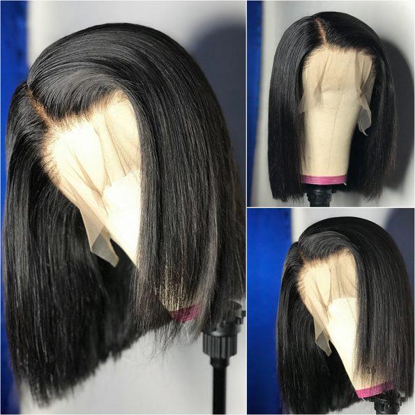 straight bob wig 5