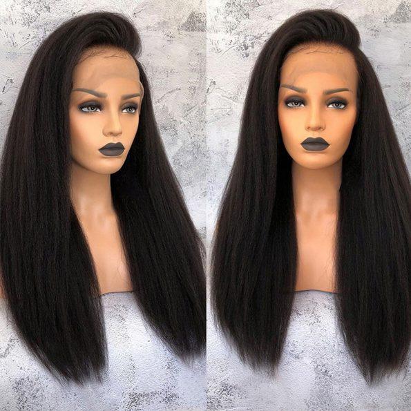 13×6 kinky straight wig 4