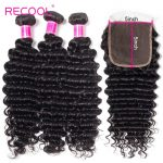 deep wave bundles with 5x5 lace closure
